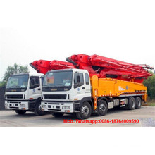 Good Quality for China Concrete Pump Truck,Small Concrete Pump Truck,Concrete Pump Mixer Truck Manufacturer Energy Saving 48m Boom Concrete Pump Truck supply to Congo Factories