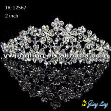 Fashion crystal rhinestone wedding crowns hair jewelry