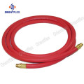 Red heavy duty air hose assembly