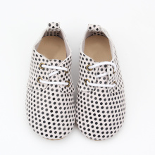 Spot Baby Boy Girl Oxford Leather Shoes