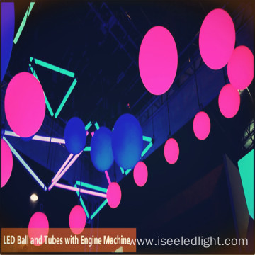 Hot sale 25cm DMX LED Lift Ball