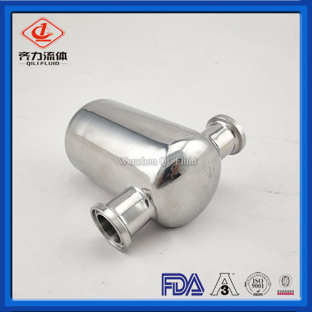Food grade stainless steel customized fittings