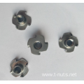 Stainless steel 4 Prongs T-Nuts