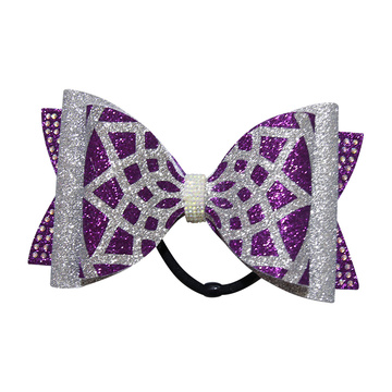 7 tommers høyde Youth Dance Team Hair Bows