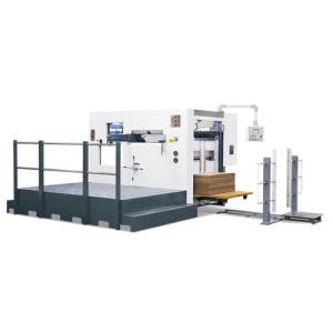 ZXYB 1200 semi-automatic die cutting and creasing machine