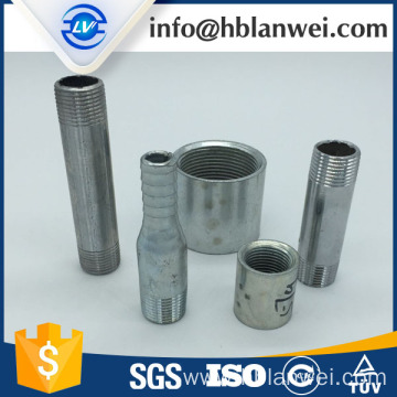 Factory directly for China Carbon Steel Pipe Fittings,Carbon Steel Nipple,Barrel Nipple Pipe Fitting Manufacturer electric galvanized hose nipple supply to Indonesia Factories