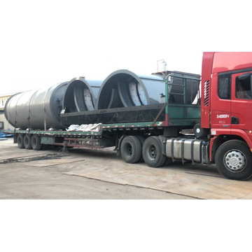non-pollution waste tires pyrolysis machines