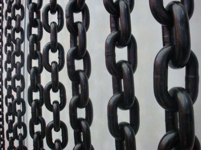 Black G80 Chain industrial application