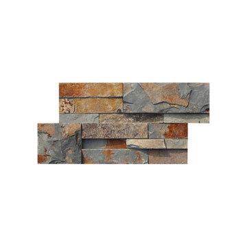18×35cm rusty decoration wall stone panel