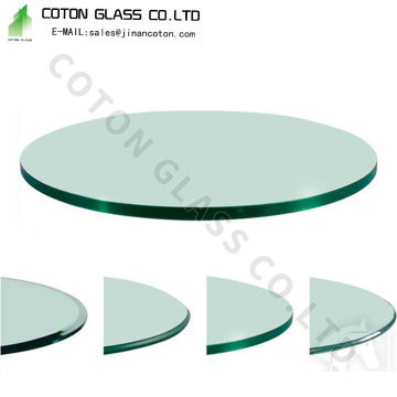 Customized Glass Top For Table