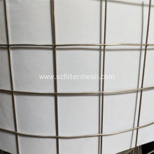 4mm 201 Stainless Steel Welded Wire Mesh