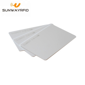 China Factory for RFID Smart Card PVC Card RFID SLE66RO1P chip NFC Blank Cards supply to Christmas Island Manufacturers