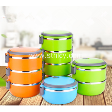 Stainless Steel Insulated Box With Multilayer Compartments