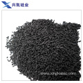 Pore size column activated carbon for organic solvents