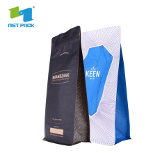 BRC Certificates Plastic Printed Bag Coffee Packaging