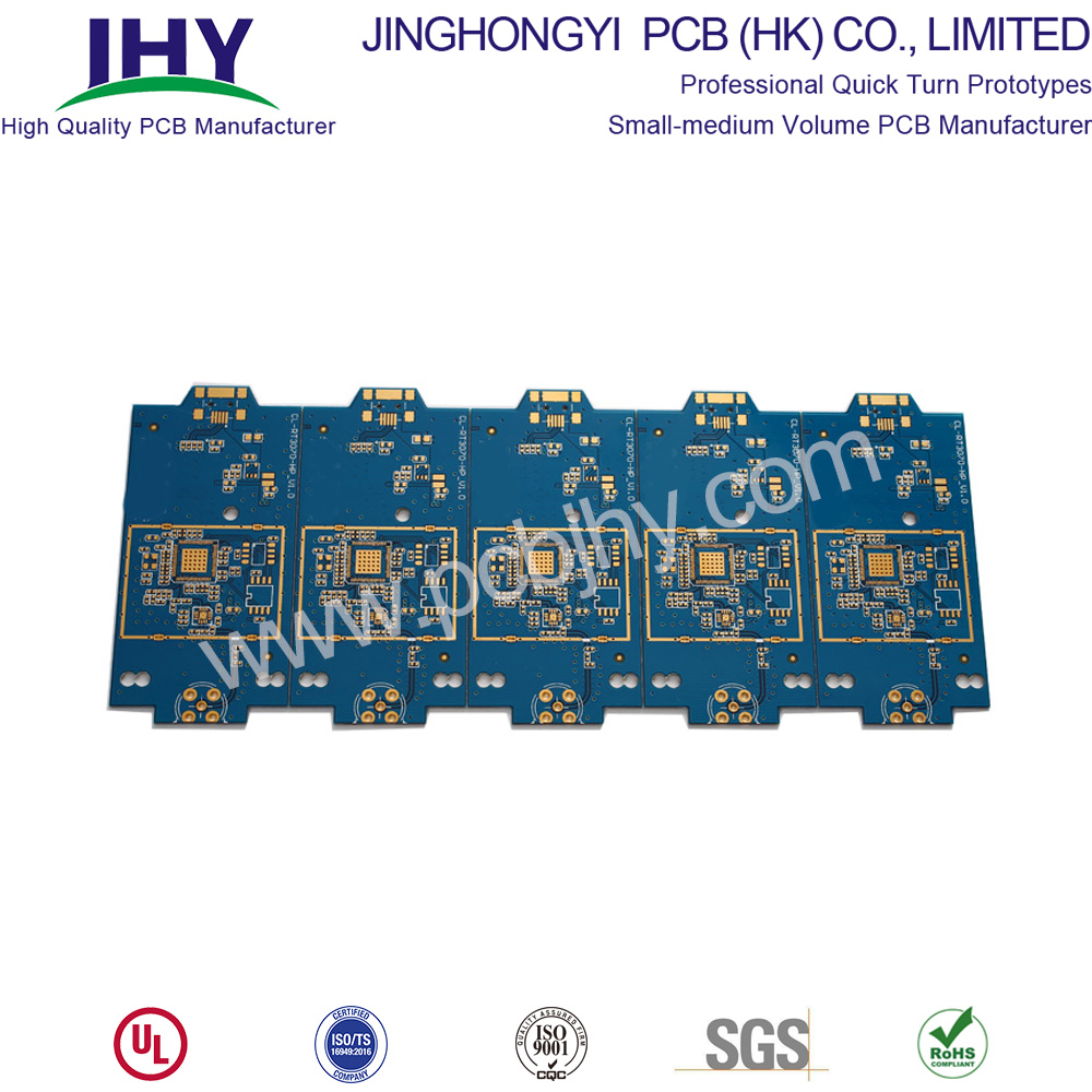 ENIG Blue 1oz 2L Quick Turn PCB