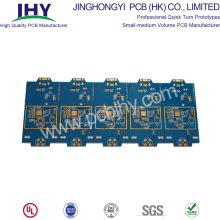 China Manufacturers for Fast PCB Prototype 2 Layer Quick Turn PCB ENIG Blue 1oz supply to Russian Federation Manufacturer