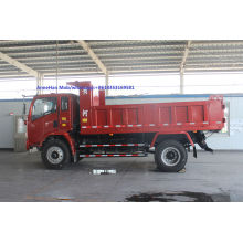 Sinotruk howo 4x2 light dump trucks