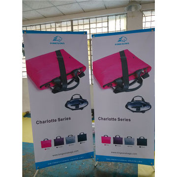 Adjustable X Stand Banner for Trade Show