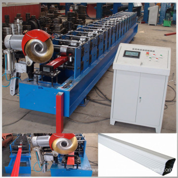 round downspout sheet roll forming machine