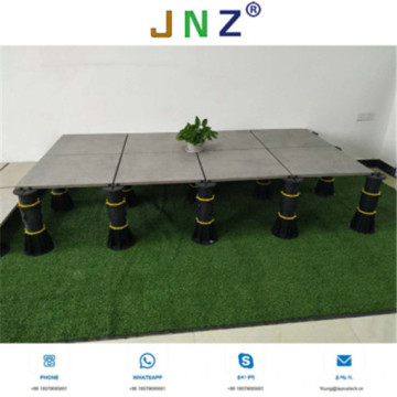 adjustable plastic deck pedestal for flooring decking
