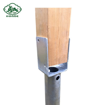 Galvanized Ground Screw N68*1000mm