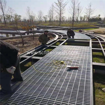 Galvanized Steel Grate Park Road/ Trench Cover