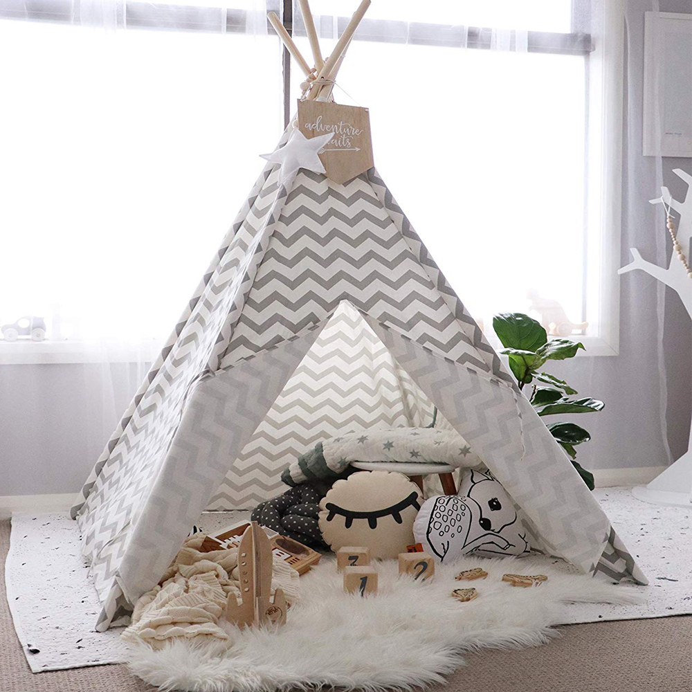 Canvas Teepee For Kids