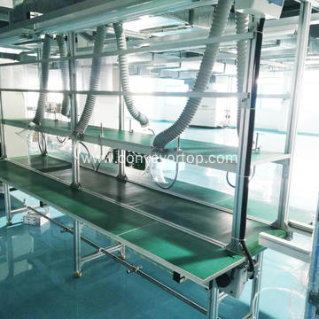 Powered Belt Conveyor Machine For Automated Production Line
