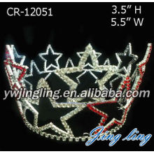 Patriotic Star Full Round Crown