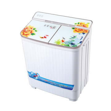 Hot Sell 4KG Glass Cover Washing Machine