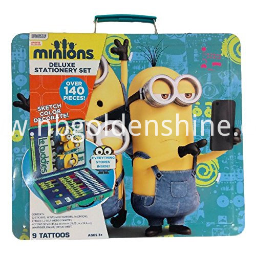 MinionsKids Deluxe Stationery Pencil Case