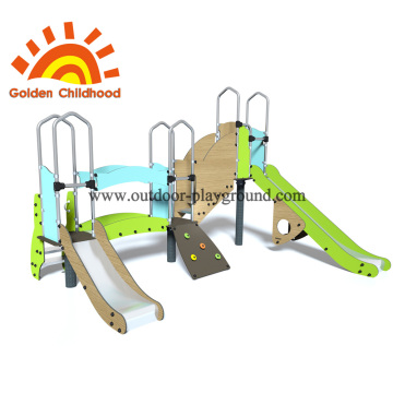 Mergency escape children outdoor playground facility