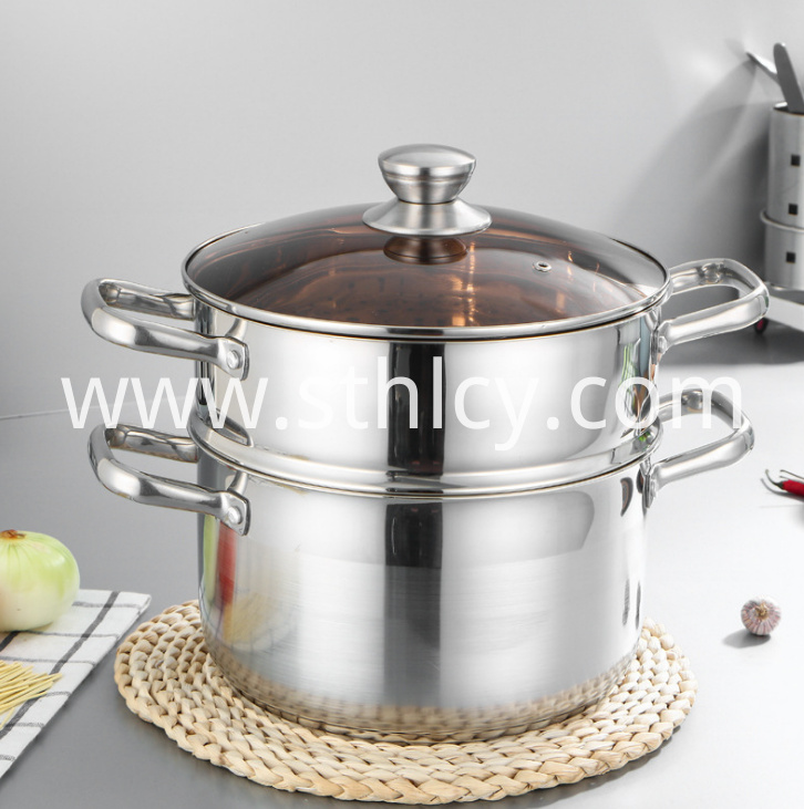 Stainless Steel Steamer Pot10