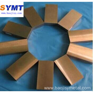 tungsten copper W Cu alloy block