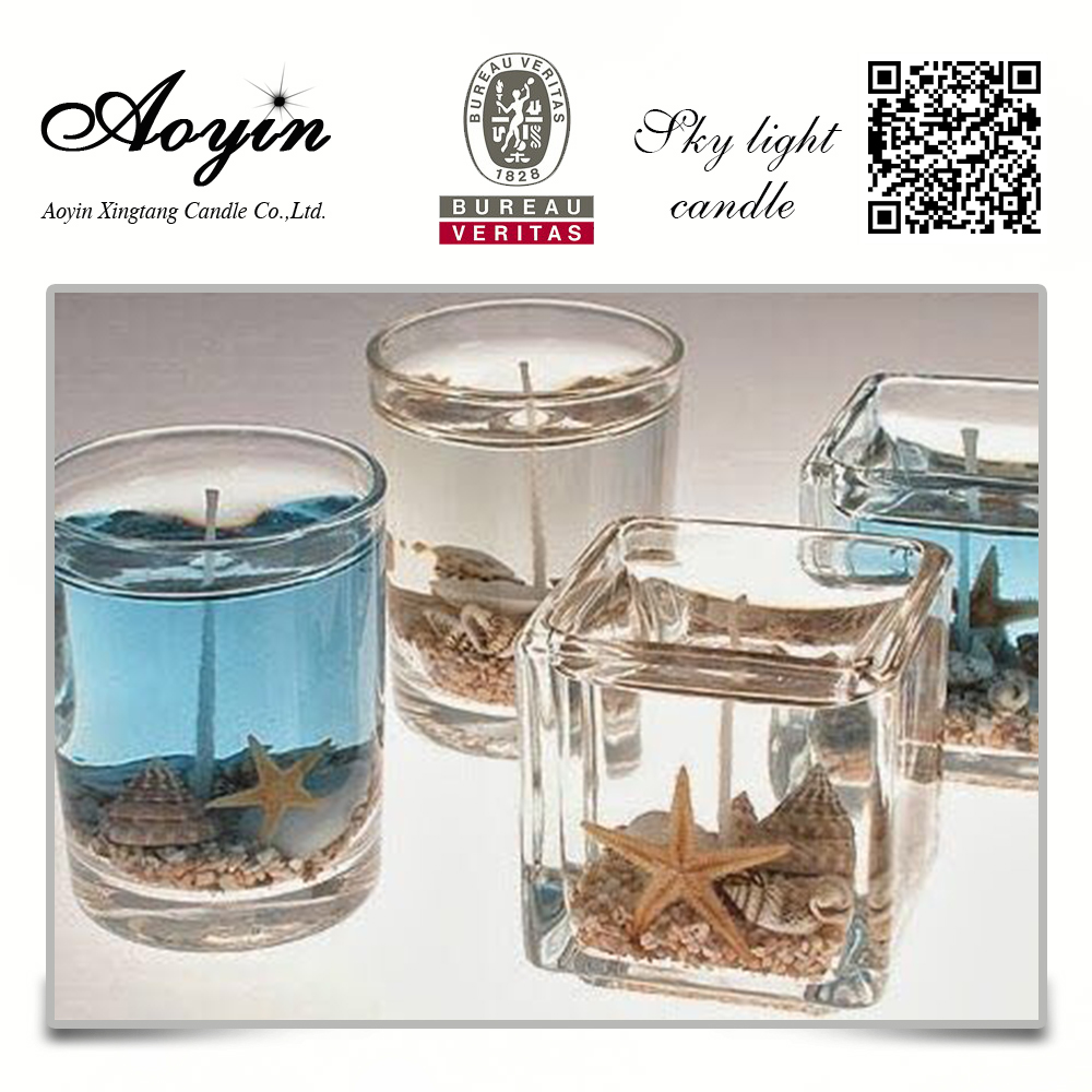 hot sale arts and craft gel candle