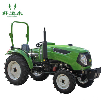 All-Wheel-Drive Four-Cylinder Mini Farming Tractor