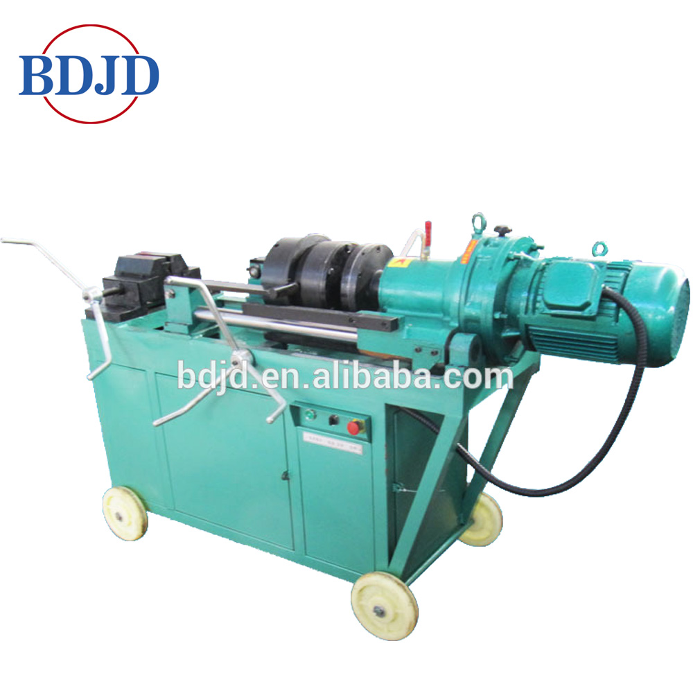 Lathe Rebar Thread Rolling Machine