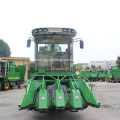 sweet maize corn cutting combine harvester