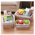 Wicker Material Basket Eco-friendly Product Type straw baskets