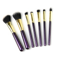 7 Pcs mini portable travel makeup brush