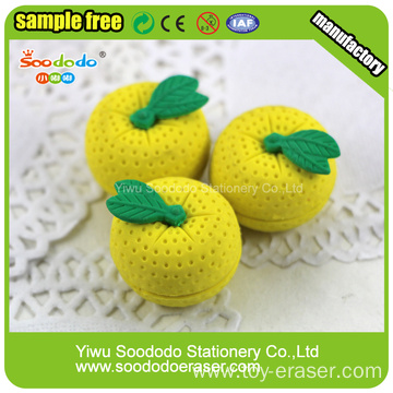 fruit eraser orange shaped eraser cute eraser