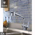Chrome plated sink mixer cold/hot water tap