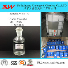 factory low price Used for Leather Chemicals Sulfuric acid in 30L drum supply to United States Suppliers