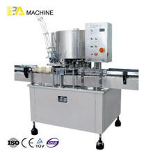 Factory making for Glass Bottle Filling Machine 6 Heads Aluminum Tin Can Sealing Machine supply to Netherlands Factory