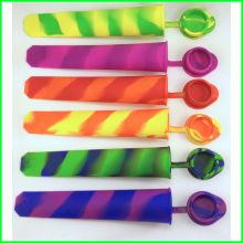 Colorful Premium Silicone Ice Pop Mold with Lid
