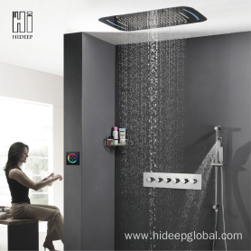 HIDEEP Thermostatic Five Function Shower Faucet
