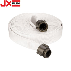 Rubber Lined Fabric Fire Hose For Fire Fighting