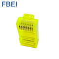 Yellow Color RJ45 Cat connector
