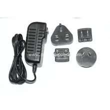 AC DC Universal Interchangeable Power Adapter 18W